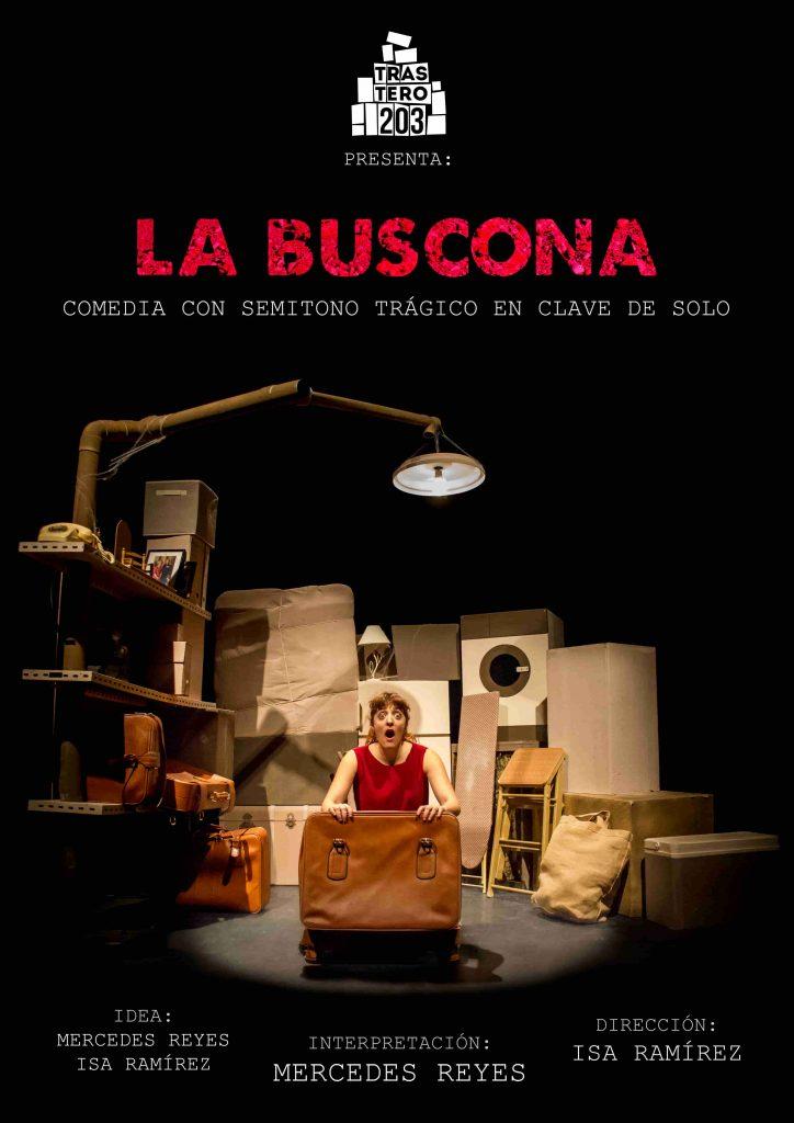 Cartel. LA BUSCONA Trastero203